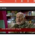 Frame dell'intevista di Gianni Berengo Gardin - da Rai News