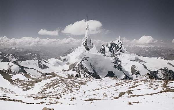 "© Michael Najjar. ""nasdaq_80-09"", From the series ""high altitude"" 2008 – 2010. Original size: 202 x 132 cm"