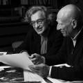 Wim Wenders e Sebastiao Salgado nel film Il sale della terra diretto da Wim Wenders