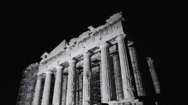 © Bill Balaskas. Parthenon Rising. Video still