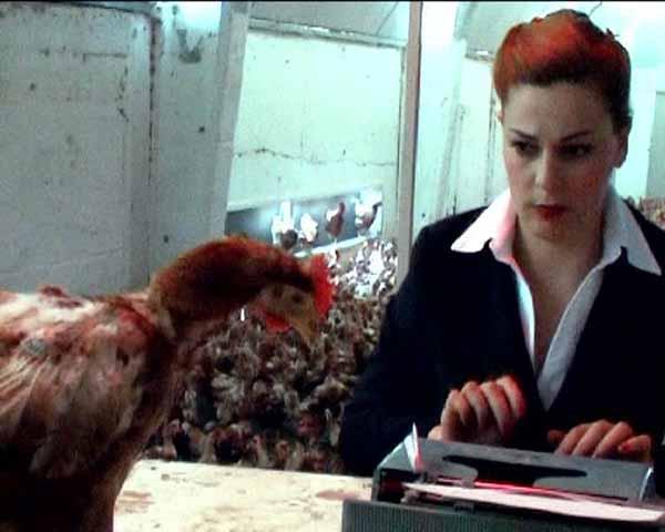© Mary Zygouri. Symbiosis, 2008. Still da video. Courtesy Alberto Paola