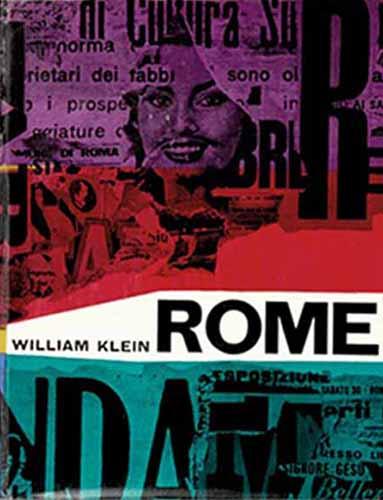 """""""Rome"""" di William Klein. Copertina originale (Vista Books e Giangiacomo Feltrinelli Editore - 1959)"""