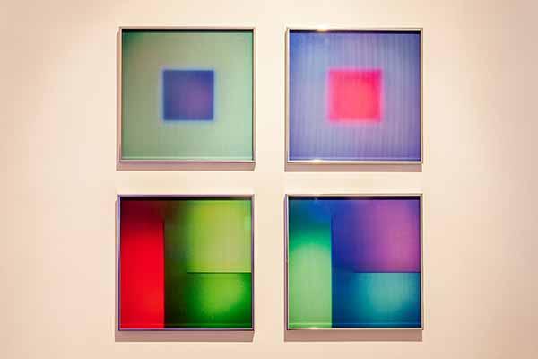 Brian Eno - Light Music. Installazione. Foto di Piero Cremonese
