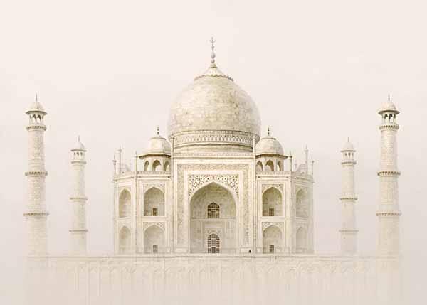 © Irene Kung. Taj Mahal. Inchiostro su carta cotone 100x140cm