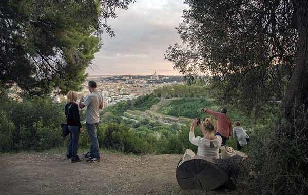 © Kerstin Schomburg, Parco Mellini al Gianicolo, 2015