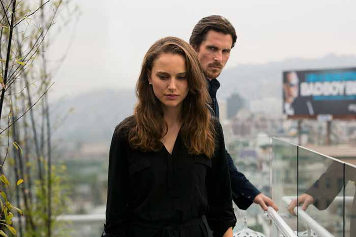"Natalie Portman e Christian Bale in ""Knight of Cups"" di Terrence Malick"