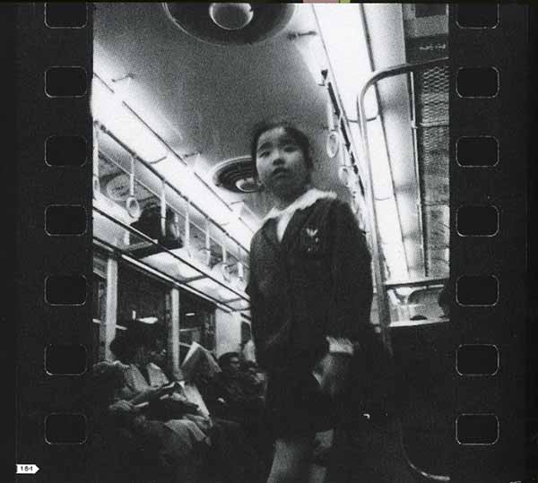 © N. Araki, serie Subway Love, 1963-72